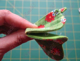 tutorial for fabric flower bowl 035