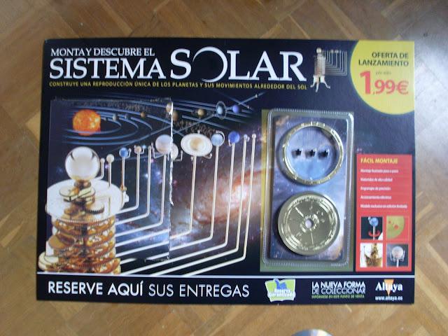 """Fasciculo """"sistema solar de Altaya"""" SL378072"""
