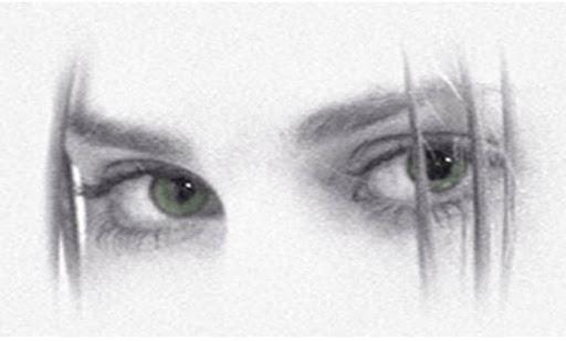 Luciana's eyes