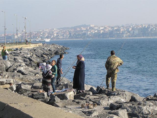 Рыбалка в Стамбуле
