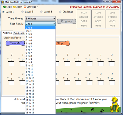 mad dog math screenshot 2