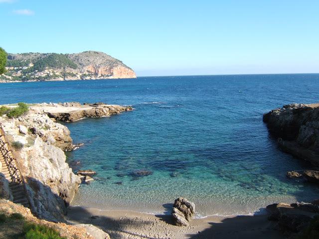 Badebucht in Costa de Canyamel/ Cala Ratjada, Mallorca