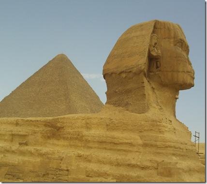 Resignacion y paciencia piramide Egipto psigetdo