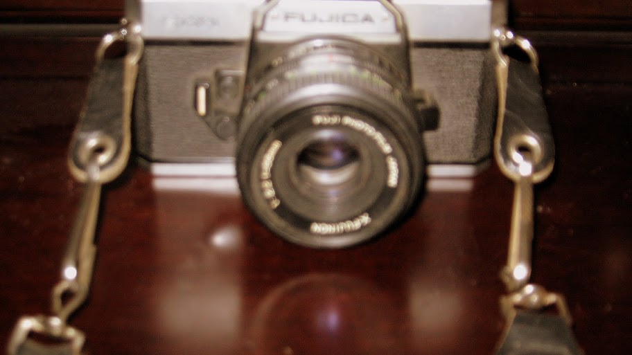 Fujica Old School Manuel 35mm Camera