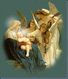 anjos e Maria