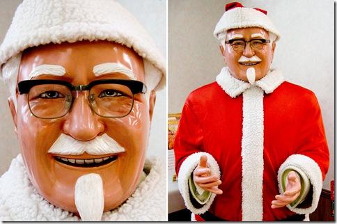 KFC'sSanta Colonel Sanders