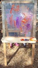 Plexiglass Easel