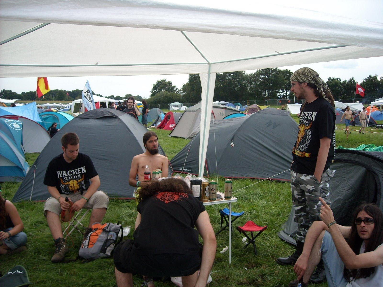 Resultado de imagen para wacken camping