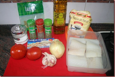 Ingredientes Receta Bacalao
