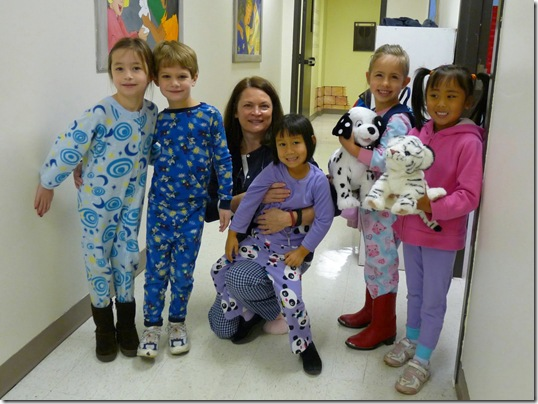 Kindergarten PJ Day 2