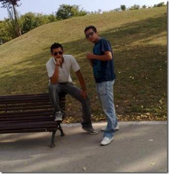 amigos hombres