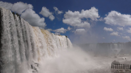 Salto Floriano in Iguazu National Park from the Brazilian Side