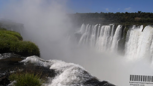 Garganta del Diablo (Devil's Throat), Main Attraction of the Iguazú Falls in Argentina