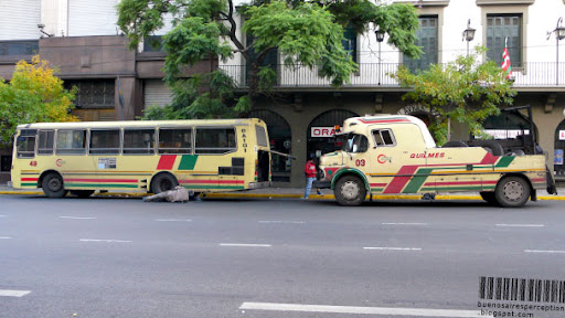 Roadside Assistance Truck, Expreso Quilmes Auxilio de Colectivo in Buenos Aires, Argentina