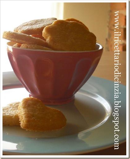 biscottini di pasta frolla rustica