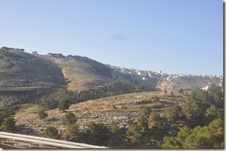 The Hills between Jerusalem and Jericho