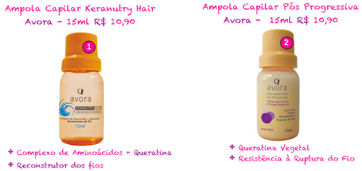 Avora ampola capilar keranutry hair
