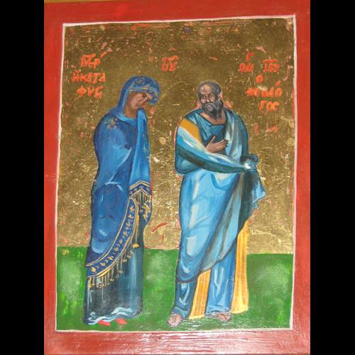 Галерия Картините: Богородица и Йоан Богослов (Убежище)