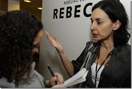 A diretora Lígia Cortez