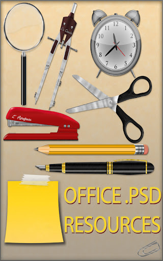 Office Tools Cliparts Photoshop