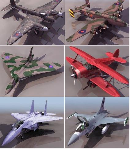 Avio 3D Models