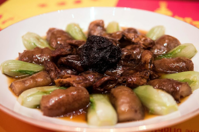 braised # abalone and # sea braised abalone with sea braised