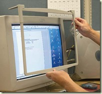 Ancestor Skimming device is easily attached to computer monitors