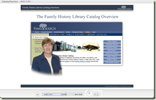 FHL Catalog class on FamilySearch.org