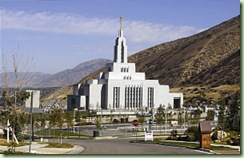 Draper Utah Temple, Photo by Scott G. Winterton/Deseret News