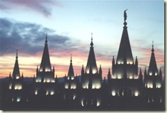 Salt Lake Temple by the Ancestry Insider