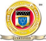 Seal of the Board for Certification of Genealogists