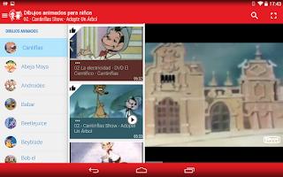 Screenshot of Dibujos animados para Niños