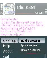 cachedeleter1 Free Download Application, FlipFont v3.3.01 Full Version: How to change font on s60v3 and s60v5