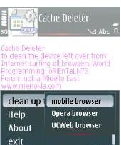 cachedeleter1 Free Download Application, FlipFont v3.3.01 Full Version: How to change font on s60v3 and s60v5