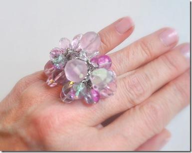 bling ring hand