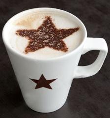 Pret A Manger caffe latte, England, Britain, UK