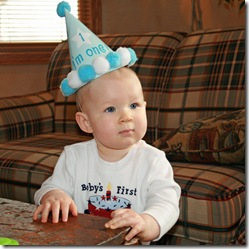 Garrett's First Birthday 011