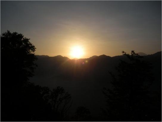 sunrise finally