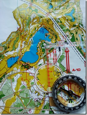 Carte d'orientation du parc de la courneuve