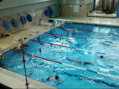 Séance natation pour remplacer la course à pied
