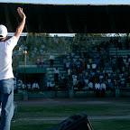 Durango Mexico Stadium Crusade Juanca leading worship.jpg