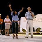 Durango Mexico Stadium Crusade Larry taking woman's testimony 3.jpg