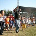 Durango Mexico Stadium Crusade Walter leading the children.jpg