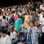 Durango Mexico Stadium Crusade altar call.jpg