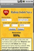 Screenshot of Rahsia Jodoh Saya for Android