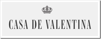 Nova logomarca Casa de Valentina