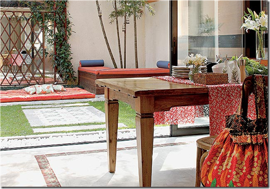 Casa de Valentina - via casa e Jardim - usando toalhas dobradas