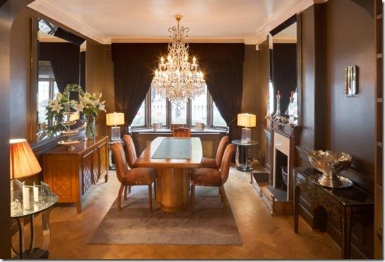 Casa de Valentina - via ShootFactory - 2 estilos na mesma casa em Londres - sala de jantar