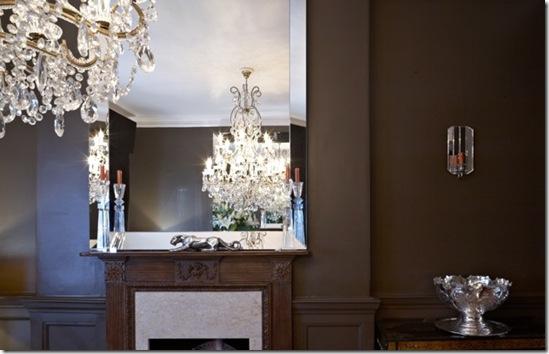 Casa de Valentina - via ShootFactory - 2 estilos na mesma casa em Londres - marrom