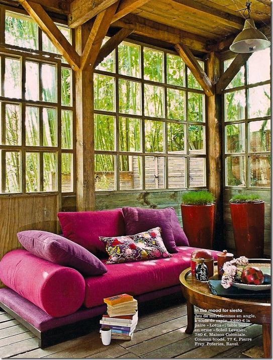 Casa de Valentina - um sofá pra lá de colorido 2